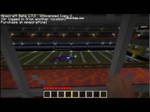 Ralph Wilson Stadium in Minecraft!!!