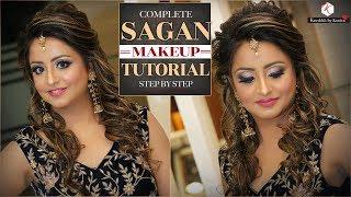 Sagan Makeup Tutorial Videos | Step By Step Engagement Tutorials | Krushhh By Konica
