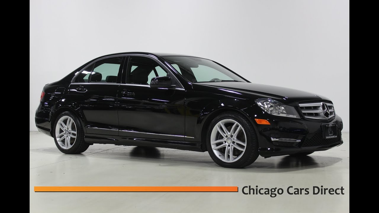 Chicago cars direct presents a 2013 mercedes benz c300 c for 2013 mercedes benz c300 sport