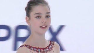 2016 ISU Junior Grand Prix - Saransk - Ladies Free Skate - Varvara PETROVA KGZ