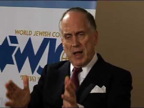 A Minute with World Jewish Congress President Ronald Lauder