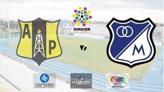 Alianza Petrolera Vs Millonarios - Transmisión Radial  Copa Colombia