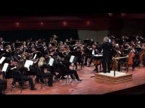 UNT Symphony Orchestra: Tchaikovsky - Symphony No. 4 in F minor