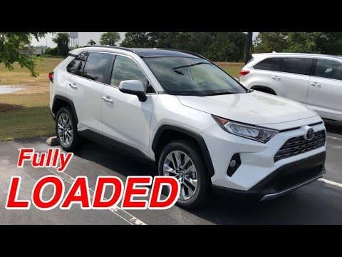 2019 Toyota Rav4 Limited w/ Advance Tech Pkg   Full Tour & Start-up at Massey Toyota