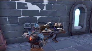 Fortnite Battle Royale - The Prisoner Stage 2 Key Location (Snowfall Skin Upgrade)