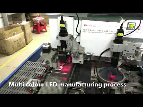 RGB LED manufacturing