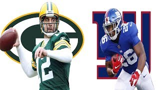 Green Bay Packers vs New York Giants Recap. Giants drop to 2-10! Changes are needed!