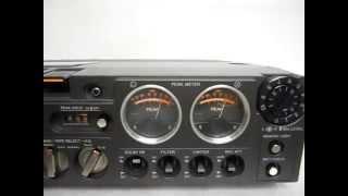 最高級カセットテープレコーダーカセットデンスケvintage portable stereo cassette tape recorder TC-4550SD