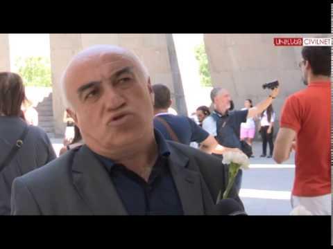 Hidden Armenians visit Genocide Memorial