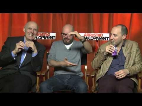 David Cross, Jeffrey Tambor And Tony Hale Interview -- Arrested Development Season 4