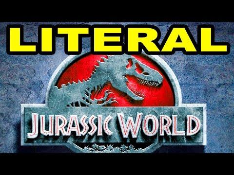 LITERAL Jurassic World Trailer