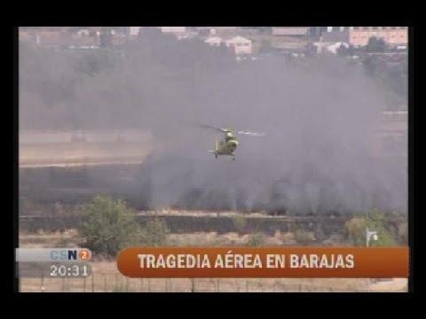 Resultado de imagen para Fotos del accidente aéreo en el Aeropuerto de Madrid-Barajas (Madrid, España)
