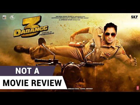 Dabangg 3 | Not A Movie Review by Sucharita Tyagi | Salman Khan | Sonakshi Sinha