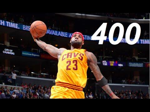 Lebron James Top 400 Dunks!