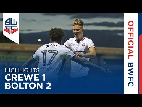 HIGHLIGHTS | Crewe 1-2 Bolton