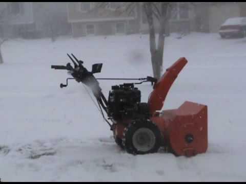 Ariens Snow Blower Cold Start