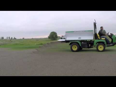 Dakota 410 Turf Tender In Action