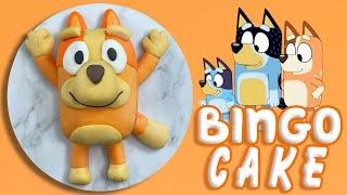 EASY BINGO CAKE - BLUEY (How To)