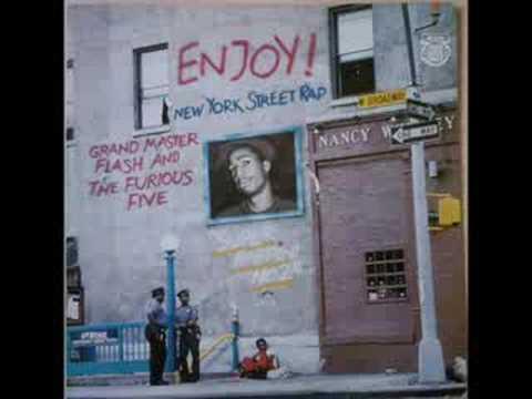 """Grandmaster Flash & The Furious Five - Super Rappin No.2 1980 [12"""" 45RPM MaxiSingle]"""