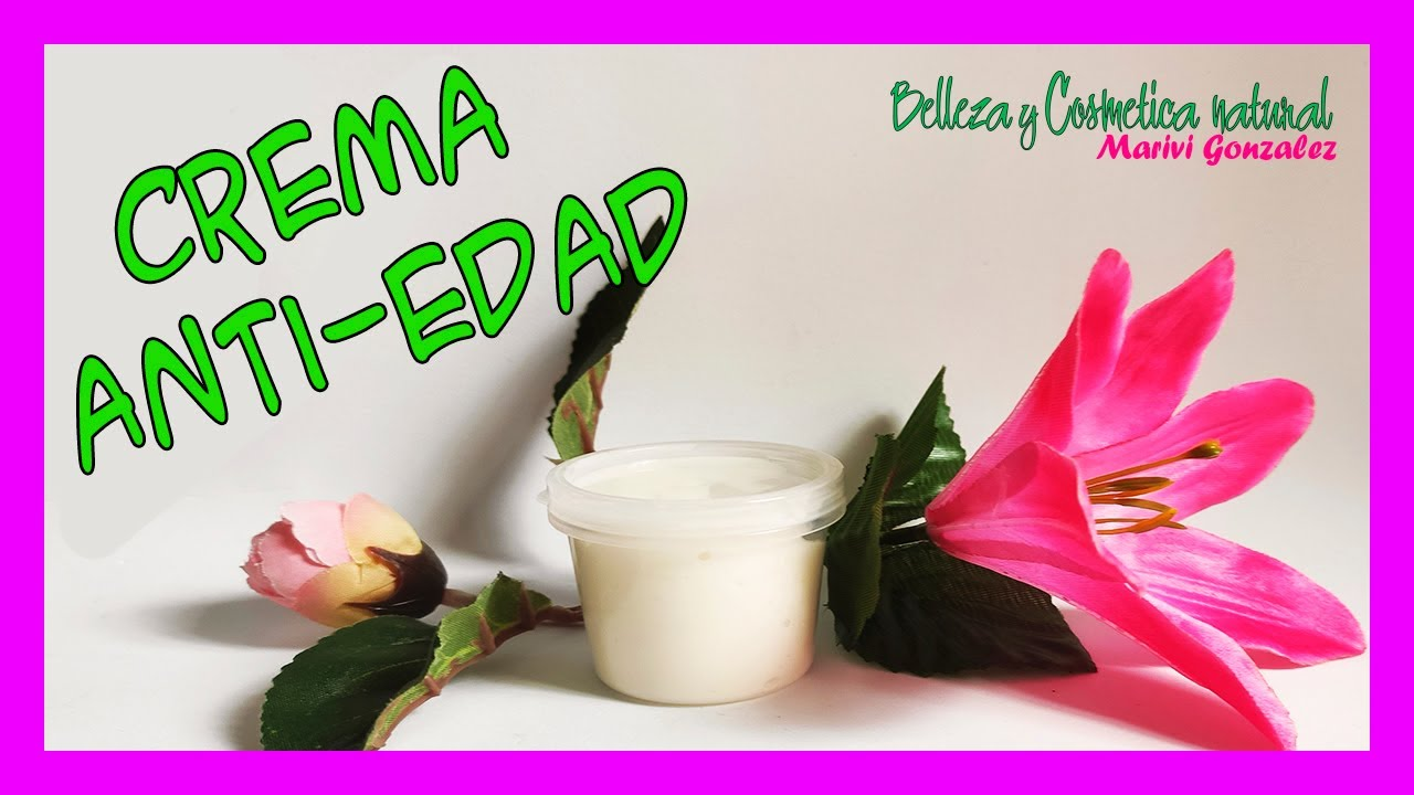 Crema ANTI ARRUGAS, ANTI EDAD super HIDRATANTE