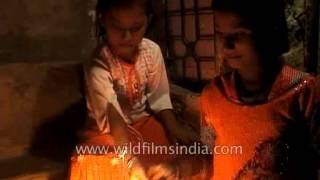 Fireworks on the Hindu festival of Diwali