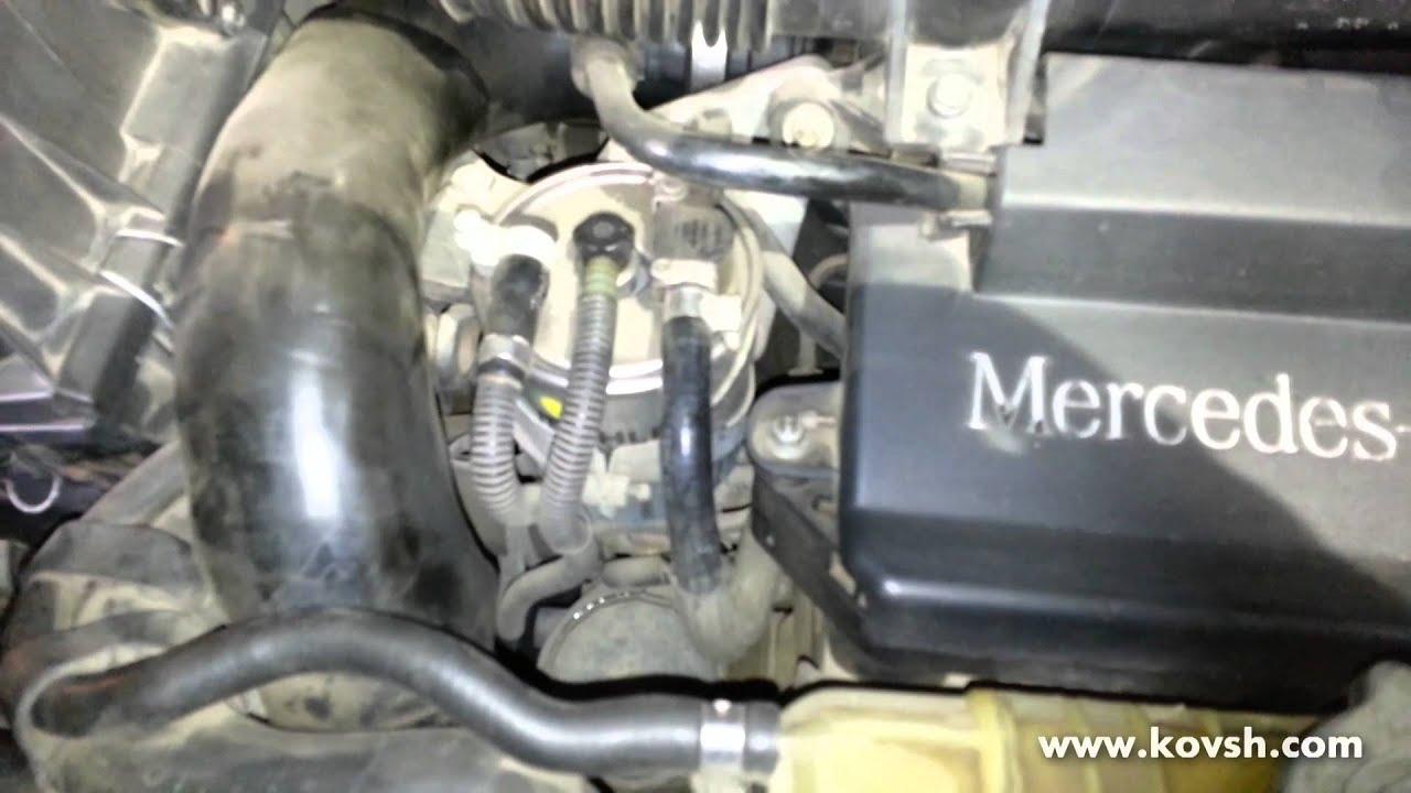 Диагностика и техобслуживание топливной аппаратуры Mazda 626 2.0 16V.