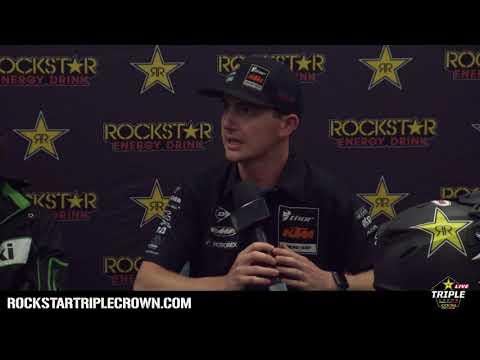 2018 Rockstar Energy Triple Crown | 450 AX Pre Race Press Conference | Abbotsford, BC