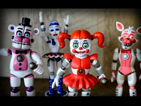 FNaF Sister Location Funko Action Figure Review
