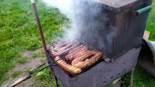 Терпуг готов, мясо ещё постоит немного.