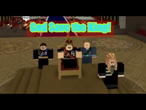 [Roblox London]   Daniel the First. Coronation The new King!
