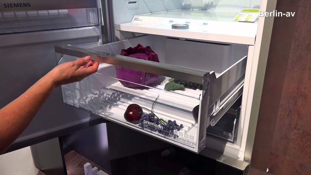 Siemens Kühlschrank Wasser Unter Gemüsefach : Siemens sensofresh idos und kühlkombi youtube
