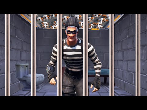 Escaping PRISON In FORTNITE! (Fortnite Prison Break) thumbnail