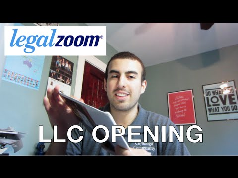 LegalZoom LLC Opening