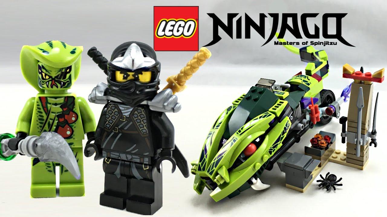 LEGO Ninjago Lasha's Bite Cycle review! 2012 set 9447!