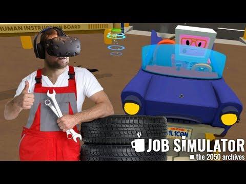 ПОСЛЕДНИЙ РАБОЧИЙ ДЕНЬ ► Job Simulator #4