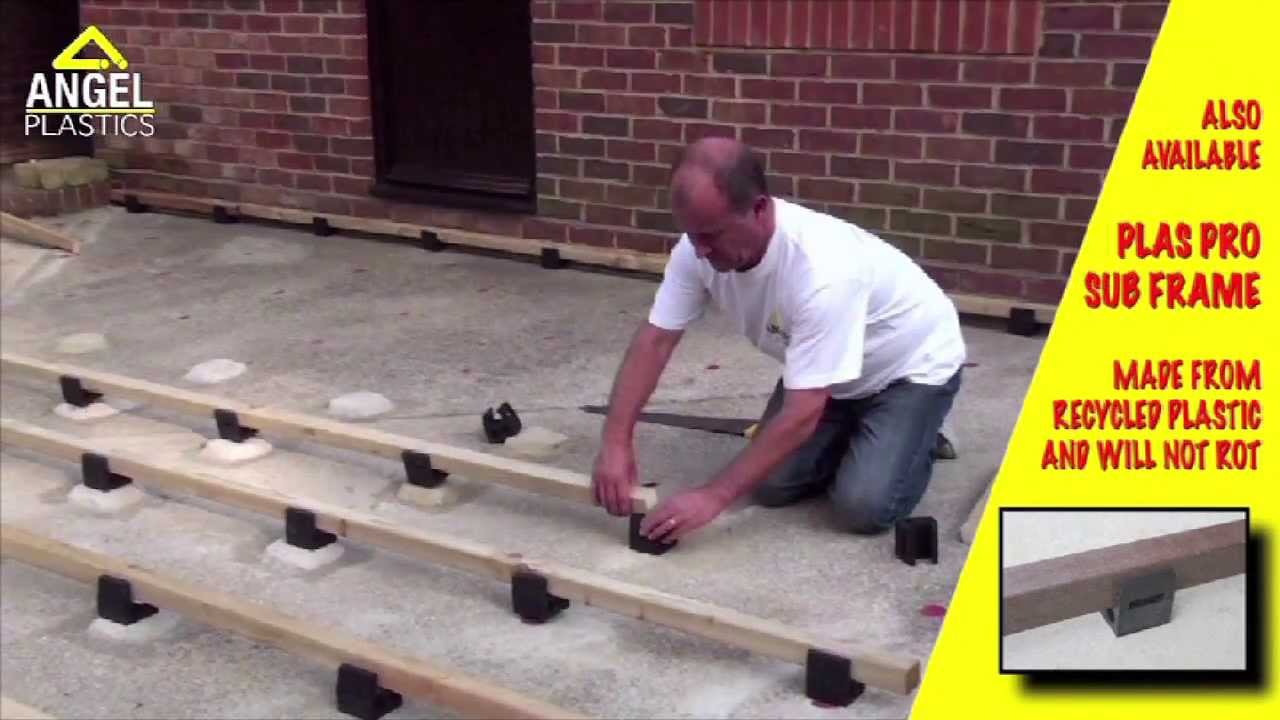 How To Install Millboard Garden Decking | Angel Plastics   YouTube