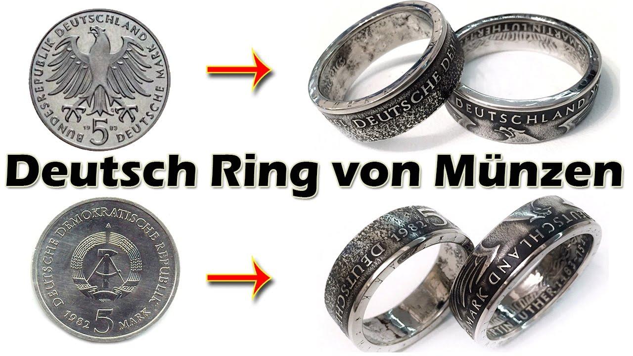 Deutsch Ring Von Münzen German Coin Rings For Special Order For
