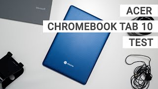 Acer Chromebook Tab 10 Test: Erstes Chrome OS Tablet im Review