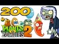 ч.200 Plants vs. Zombies 2 - Frostbite Caves - Day 28