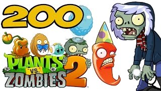 ч.200 Plants vs. Zombies 2 - Frostbite Caves - Day 28