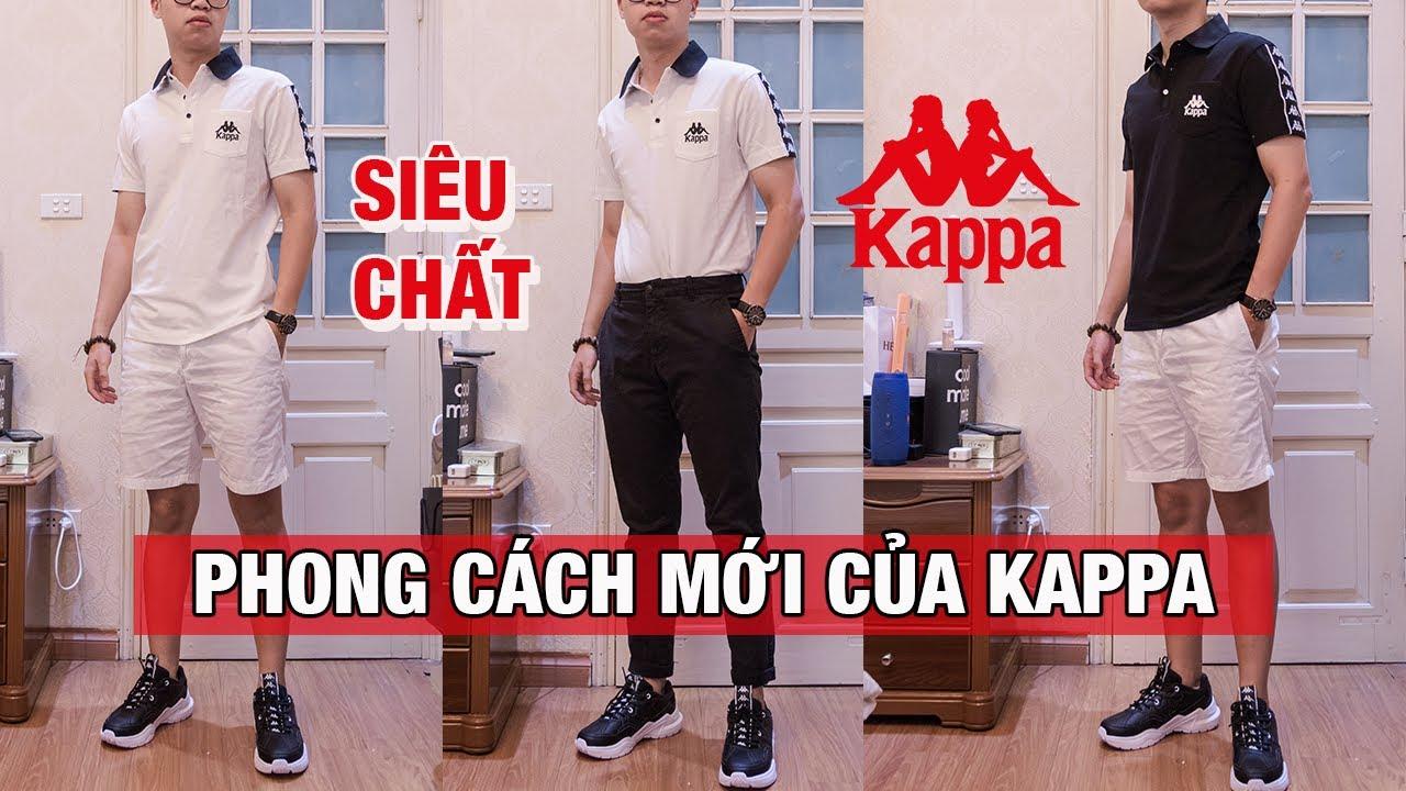 Áo Polo cực chất I Phong cách mới của Kappa