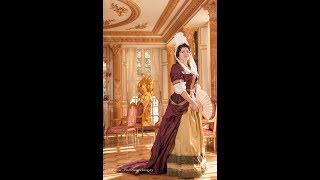 Dressing up a 1690 lady: a court and riding attire