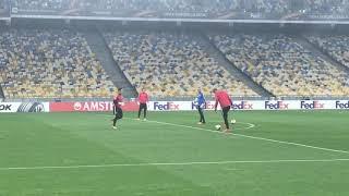 Открытая тренировка «Янг Бойз» на «Олимпийском» перед матчем против «Динамо». Часть 2
