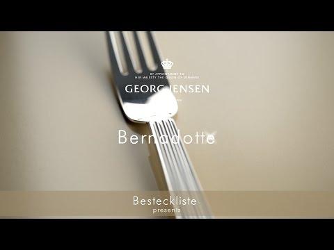Georg Jensen Besteck Bernadotte - Timeless statement