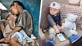 La escalofriante diferencia entre ricos y pobres