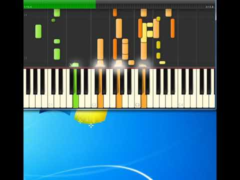 Harry Belafonte   Jamaica Farewell [Synthesia Piano]