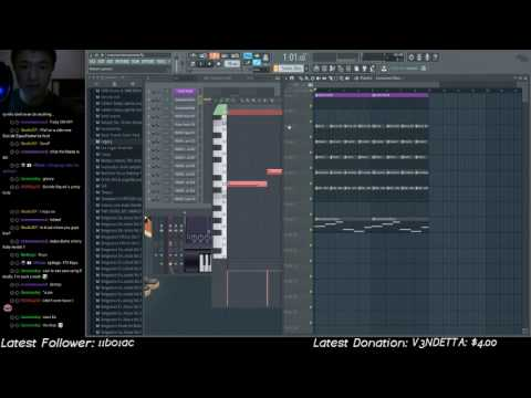 Twitch FL production session - new melodic track!