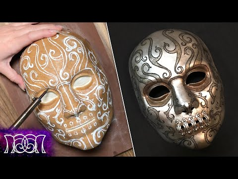 Harry Potter DIY - Death Eater Mask