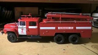 Масштабна модель вантажівки Зіл-133ГЯ АЦ-40 AVD в масштабі 1:43