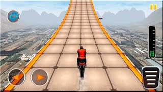 Impossible Track Sky Bike Stunts 3d #Dirt Motorcycle Racer Game